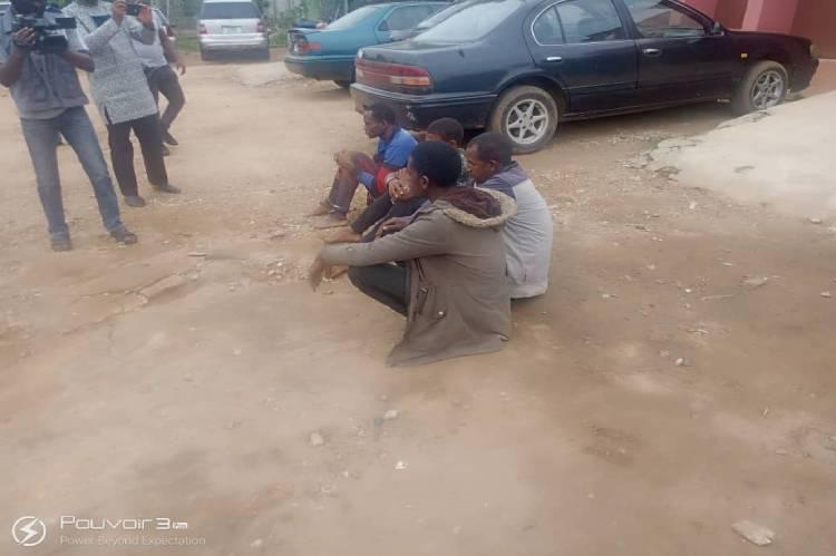 Amotekun arrests four suspected kidnappers in Ondo