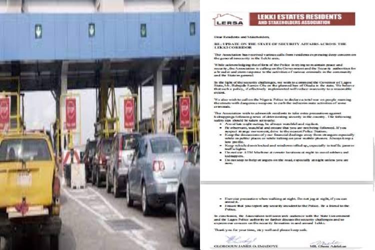Kidnapping: Lekki warns residents to be vigilant as cases increase
