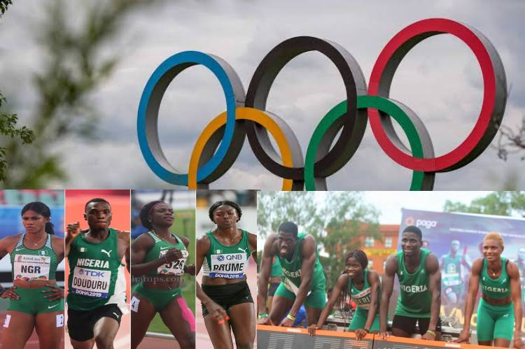 61 Athletes to represent Nigeria in nine events at Tokyo Olympic Games