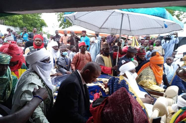 Emir of Ilorin pays Sallah Homage to Kwara Governor