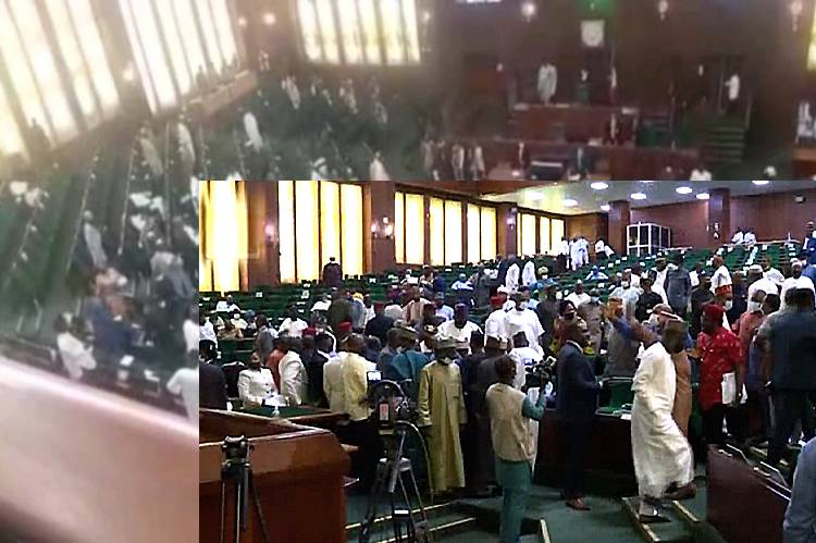 Video: House Of Reps in rowdy session over Electoral Act Amendment Bill