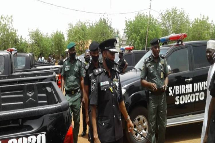 8ja latest news: Police displaying vehicles of each division