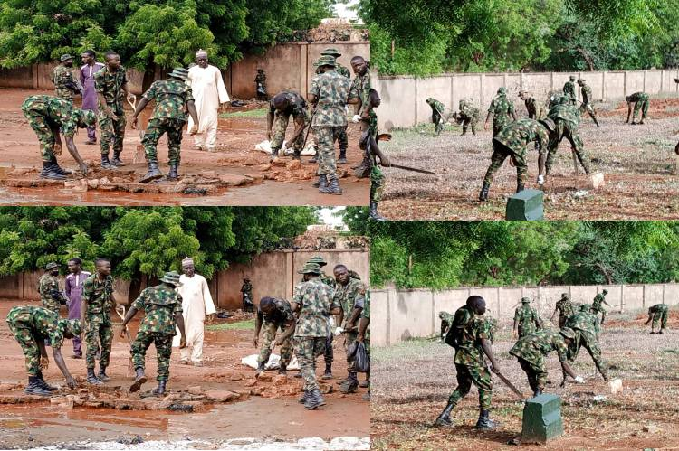 The latest News is that Nigerian Army says it is ready to sacrifice anything for good military-civil relations
