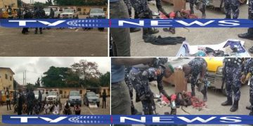 Video: Police recover charms, other exhibits from suspected Yoruba Nation agitators in Lagos