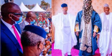 Latest About PHOTOS: Osinbajo attends coronation of Emir of Kano, Aminu Ado Bayero