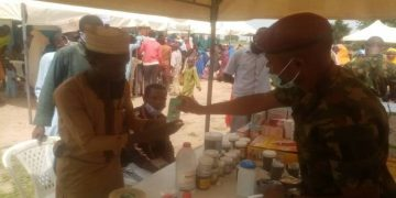 Latest News in Nigeria Today: Army gives free medical care to Zamfara residents