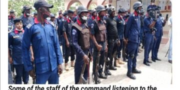 Breaking Latest News In Nigeria Today: NSCDC Commandant Zone M visits Zamfara State, Promises improved welfare for men