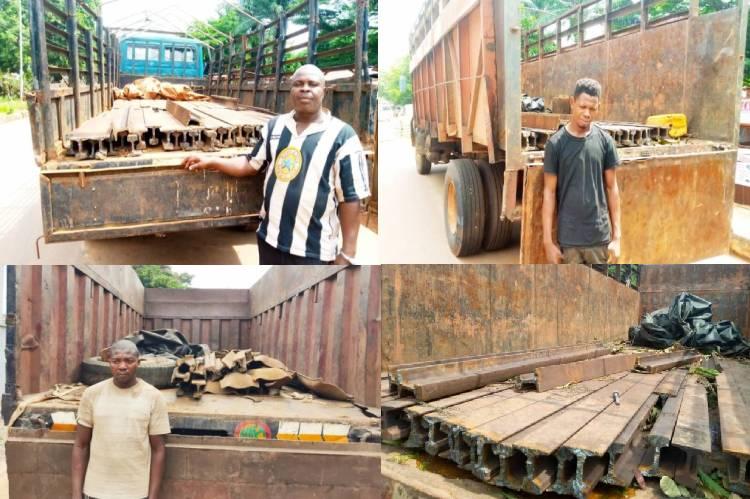 Enugu rail vandals