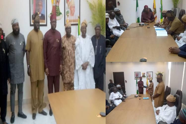 Governor of Oyo state Seyi Makinde