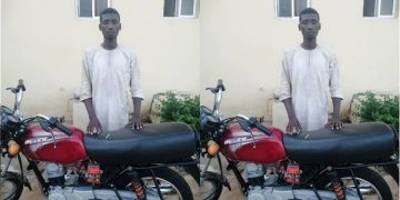 Police In Zamfara arrest suspected armed robber, recover stolen motorcycle in Gusau