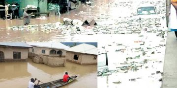 100 houses submerged, 40 residents rescued in Taraba