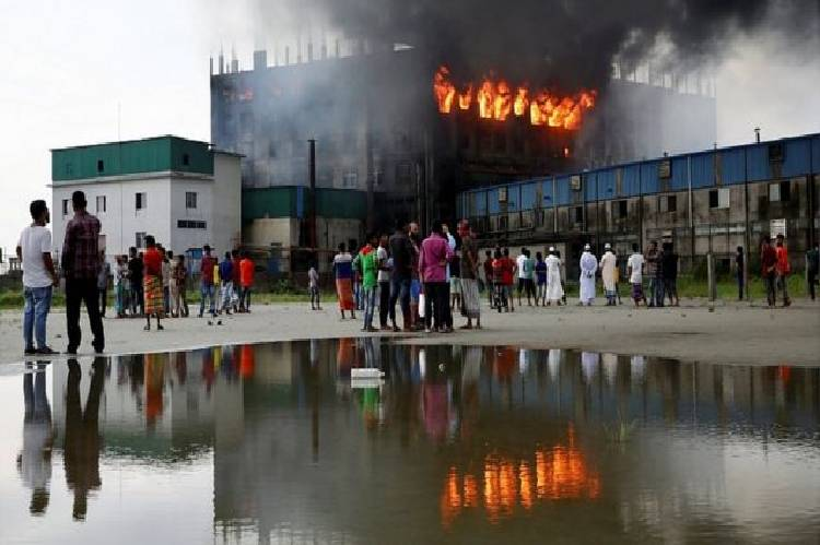 news on Bangladesh fire factory