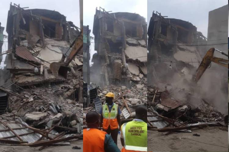Current news on building collapse