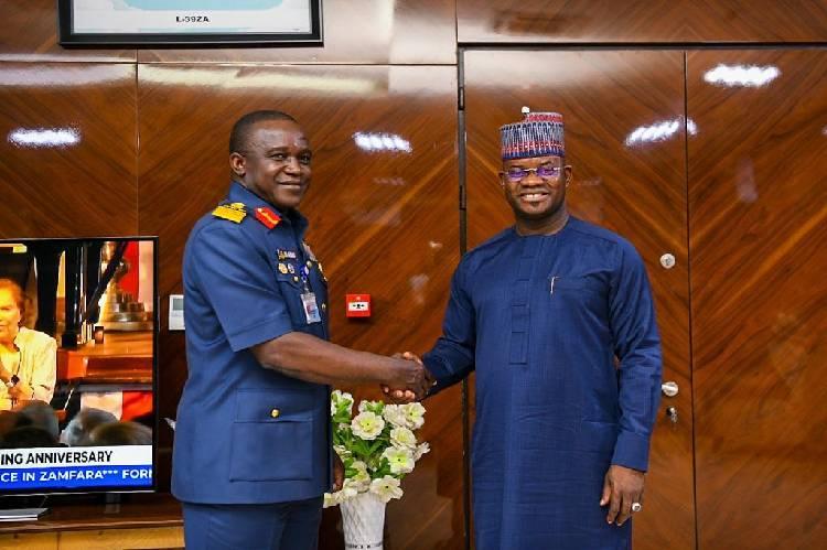 COAS commends Yahaya Bello