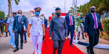 Breaking News about Security in Nigeria Today: Vice President Yemi Osinbajo Commissions Falcon Eye Project in Abuja: Vice President Yemi Osinbajo commissions Falcon Eye Project in Abuja