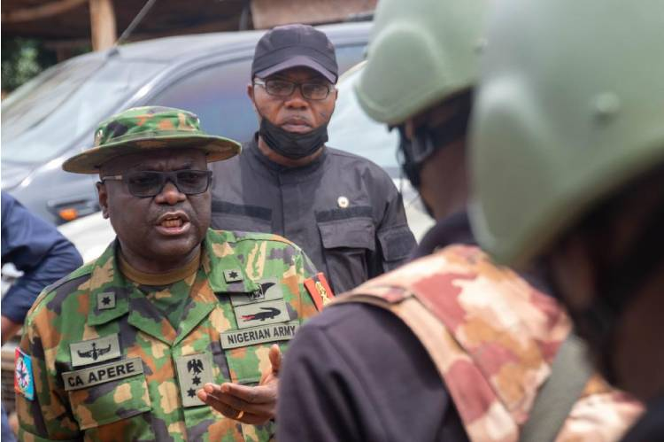 Latest Breaking News on Insecurity In Nigeria Today: Operation Whirl Stroke Commander commends troops for sustaining peace