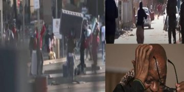 Current news about South Africa unrest