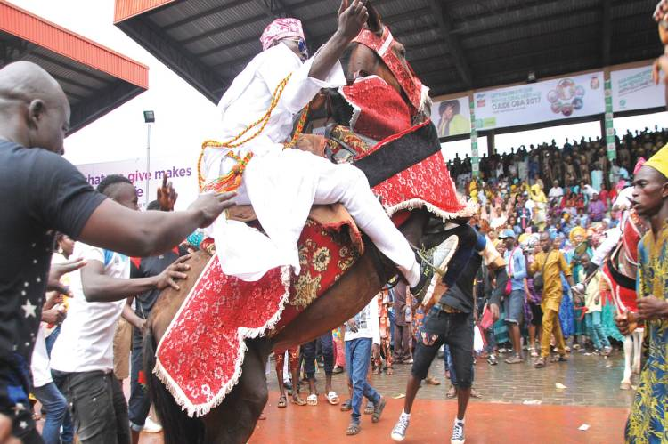 Latest Breaking News about the Awujale of Ijebu Land: Awujale approves cancellation of Ojude Oba festival
