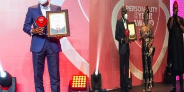 Governor Sanwo-Olu wins Vangaurd 'Personality Of The Year' Award