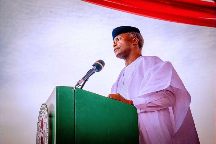 latest news about Osinbajo advicing leaders to remain calm in face of adversity