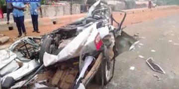 News about Otedola truck accidentr accident