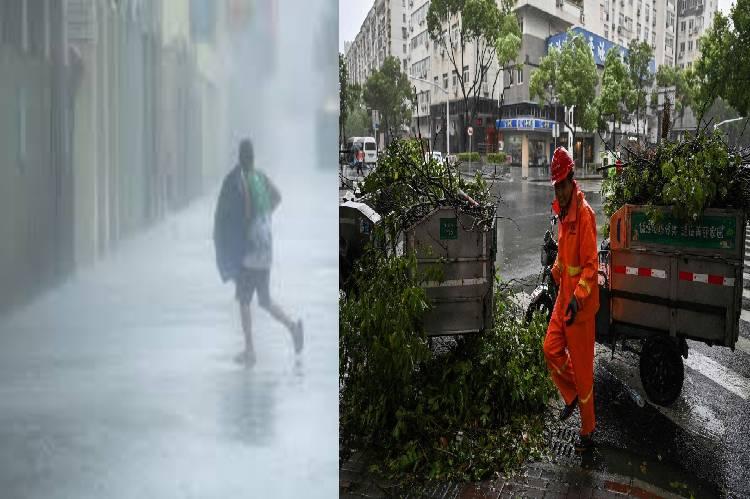 world news, typhoon In-fa