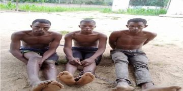 Hunters nab three kidnappers