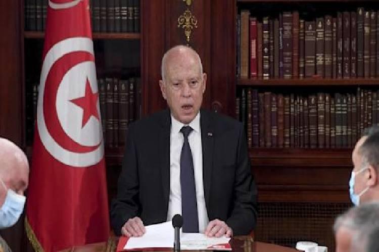 Tunisia president Kais Saied accused of plotting coup