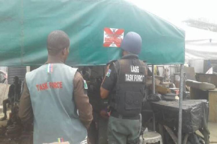 Latest news about illegal structures in Lekki