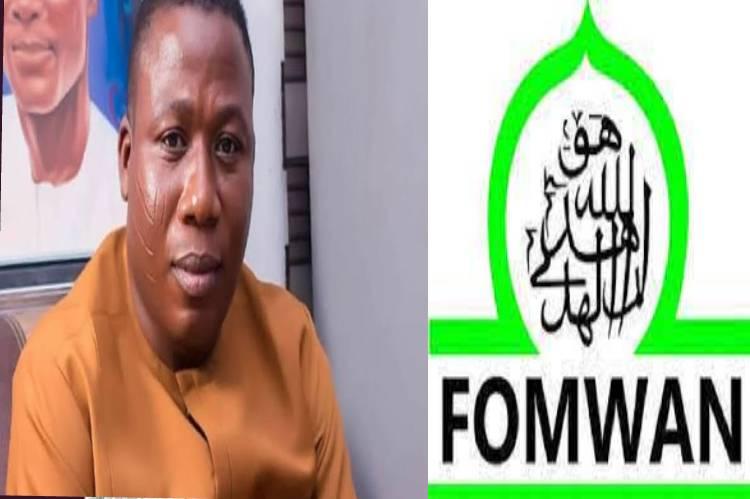 Latest Breaking News about Sunday Igboho : FOMWAN warns against comparing Sunday Igboho to Prophets