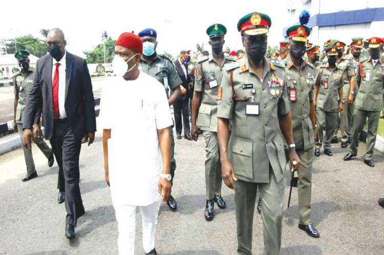 Latest Breaking News about Nigerian Army: Governor Nyesom Wike Charges Army on Professionalism