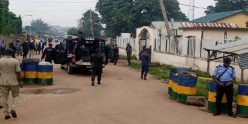 El-Zakzaky, Wife escorted by heavy security to court