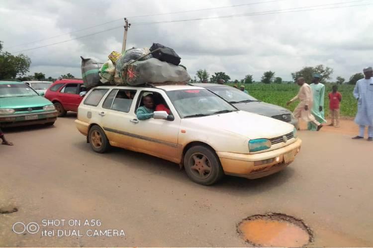 Latest Breaking News about Security in Zamfara State: Residents flee Dansadau as Security agents escort Emir, Others to Gusau