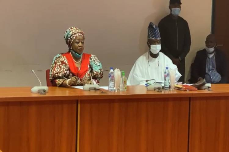 Buhari's aide, Onochie in Senate for screening as INEC Commissioner