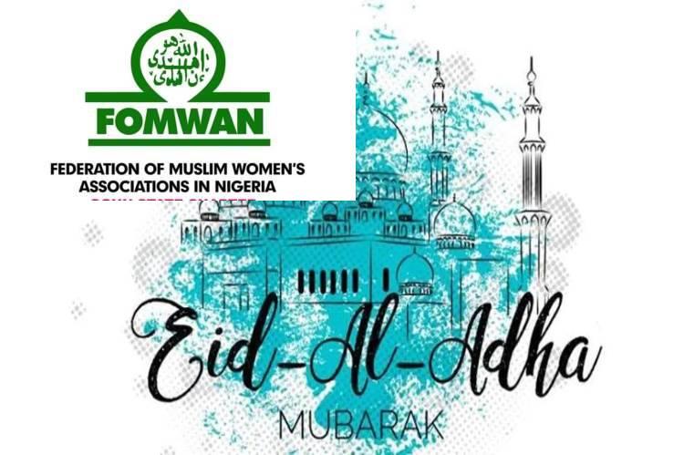 Oyo FOMWAN rejoices with Nigerian Muslims on Eid-el-Kabir festival