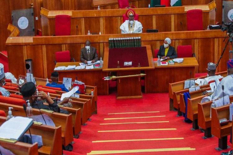 Latest news is that Electronic transmission: Plenary turns rowdy as Senate withdraws INEC's right