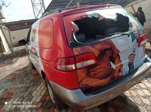 Gunmen attack Sunday Igboho's residence, destroy cars, property worth millions of naira