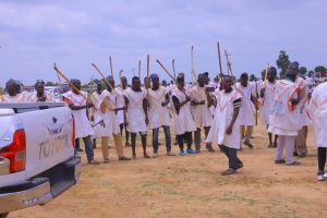 Latest news on Governor Zulum inducting 1,000 hunters  to secure farmers