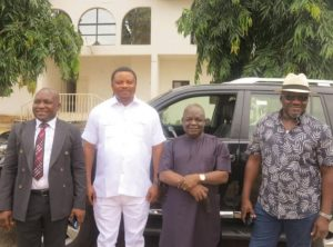 Governor Ayade gifts Toyota Land Cruiser SUVs to Rep members who defected to APC