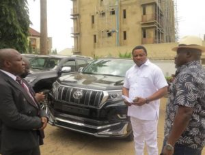 Latest news about Governor of Cross River state Ayade