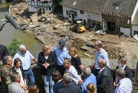 recent news about flooding in Germany, Belgium