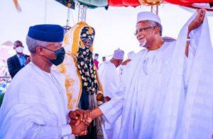 Osinbajo, Governors, SGF attend Emir of Kano's coronation