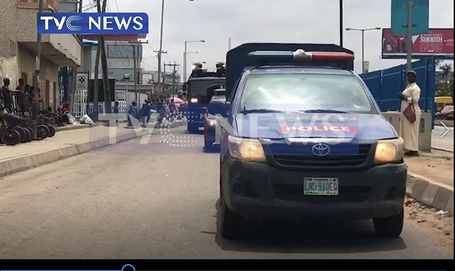 Latest Breaking News In Nigeria: Police embark on show of Force, intensify patrols against Cultists