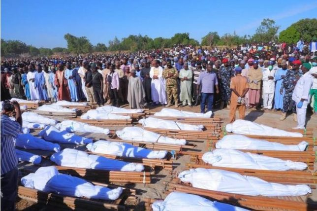 Latest news in Nigeria is that 24 persons died of food poisoning in Sokoto