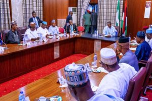 Latest news is that APC Governors commend Buhari for signing PIB into law