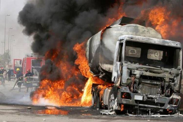 Latest news is that Bandits set petrol tanker on fire, attack other vehicles in Zamfara
