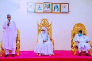 Buhari visits Yola, commiserates with Adamawa govt over Ahmed Joda's death