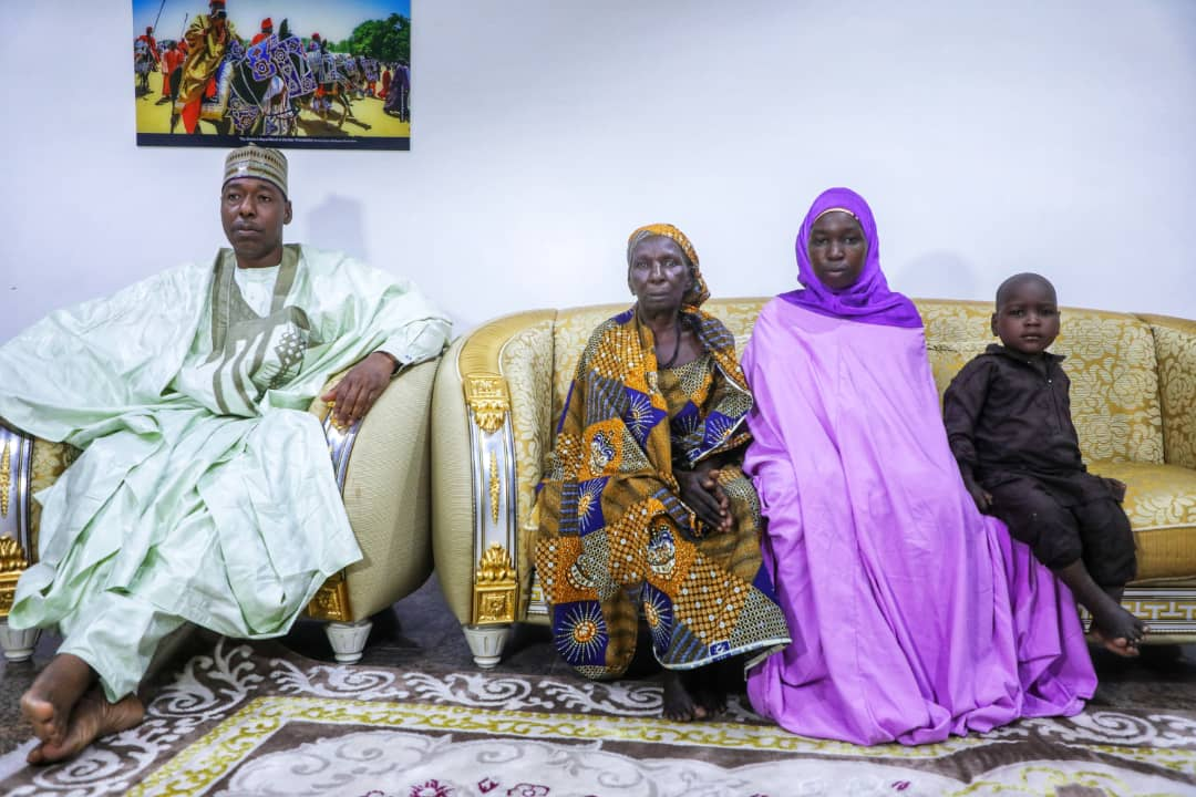 Rescued Chibok Girl reunites with mother