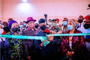 Osinbajo inaugurates Delta Power Holding Company (NDPHC) substation