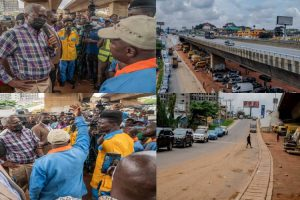 Fashola inspects rehabilitated Kara bridge at kilometer 5, Lagos/Ibadan Expressway